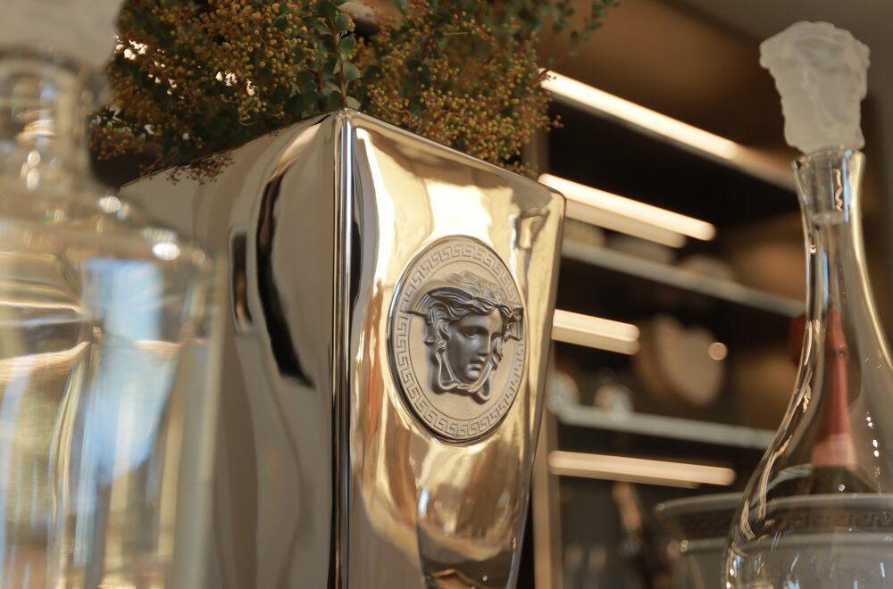 Versace Platinum Vases Hire