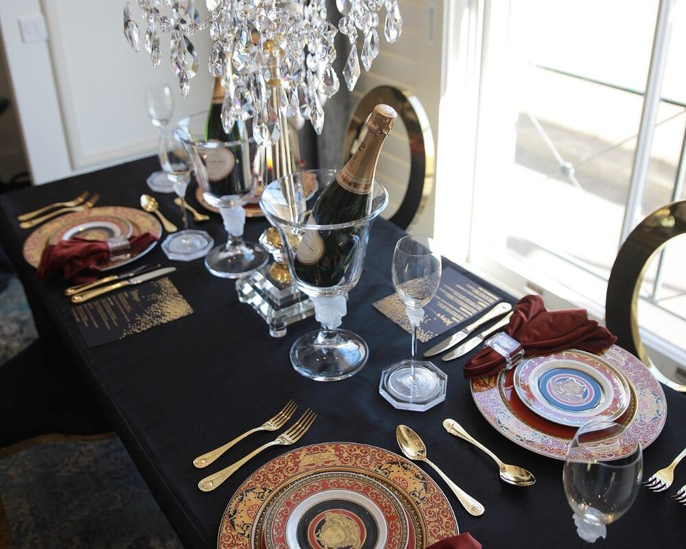 Luxurious Event Table Setting
